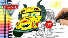 Disney Cars 3 Coloring Pages with