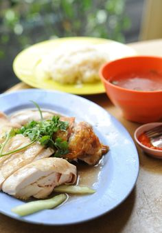dying to try: chin chin eating house (singapore)... chicken rice.