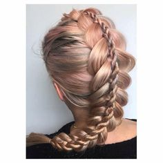 """654 Likes, 24 Comments - Joël Bridal/Event Hair Expert (@hairbyjoel) on Instagram: """"So a while ago, I posted with the Q. What braids would you like to see me create? @brianasbraids…"""""""