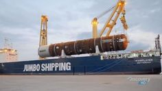 "Video: Jumbo Shippings mv ""Fairplayer"" Maiden Voyage in a documentary ""Mighty Ships"""