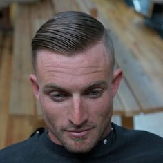 WET, I don't sell this at the shop just something I like to use personally ✂️ Mens Hairstyles Fade, Slick Hairstyles, Hairstyles Haircuts, Barber Haircuts, Haircuts For Men, Brylcreem Hairstyles, Short Hair Cuts, Short Hair Styles, Barbershop Design