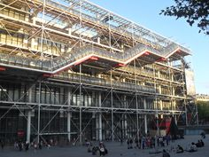 Centre Pompidou – Musée National d'Art Moderne en Paris, Île-de-France
