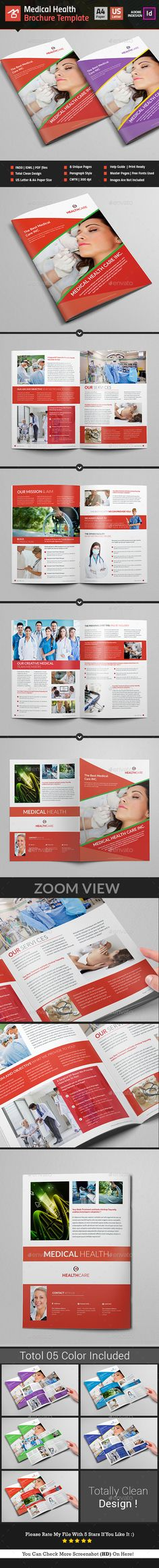 Medical Health Brochure_ 8 Pages