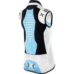 Image of X-Bionic SphereWind Biking Vest Women's - turquoise/white/black O100060 A392