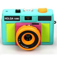 Retro Holga 135BC Gretchen Bleiler camera. Produces cool, surreal photos - like Instagram before Instagram!