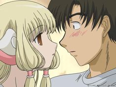 chobits. the entire premise of this anime would make a great fic.