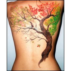 35 Fall Tattoos for Men and Women ❤ liked on Polyvore featuring mens