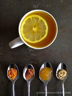 Anti-Inflammatory Turmeric Tea