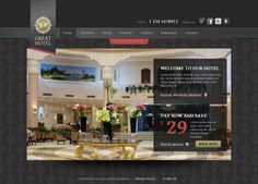 Great Hotel Reservation HTML5 Template 300111633 by Dynamic Template