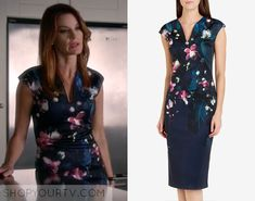 ShopYourTv:Pretty Little Liars: Season 6 Episode 14 Ashley Marin's Floral Dress - ShopYourTv