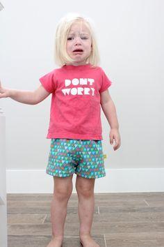 Knit KID Shorts – MADE EVERYDAY