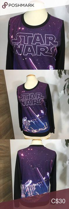 Star Wars Sweatshirt Sz M In excellent condition, no stain or rips Sz M Star Wars Tops Sweatshirts & Hoodies Star Wars Sweatshirt, Plus Fashion, Womens Fashion, Fashion Tips, Fashion Trends, Hoodies, Sweatshirts, Crop Tops, Stars