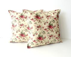 pillow cover  decorative throw pillow cover floral by SNOhome, $35.00