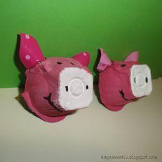 Piglets Diy Crafts How To Make, Bagan, 3 D, Christmas Ornaments, Holiday Decor, Birthday, Piglets, Inspiration, Gray
