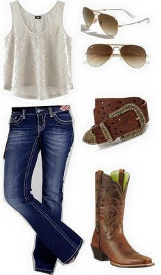 Shirt, pants and belt