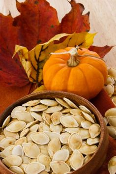 Halloween might be fraught with nutrition frights, but pumpkin seeds aren't one of them. They are full of good things and easy to make. Read on for instructions on making these little treats.