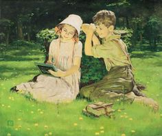 Художник - иллюстратор Douglass Crockwell (1904 - 1968)