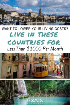 If you're looking to travel cheaply and lower your living costs, check out these 15 cheap countries to live in for under $1000 per month. Tell us a comment which most appeals to you | #travel #cheaptravel #slowtravel #budgettravel #traveltips #bestcountries #bestintravel #bestdestinations #moveabroad #workabroad #retirement #frugalliving #retirementhacks #retirenow #frugal #digitalnomad #excitingdestinations
