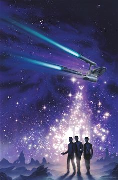 """Star Trek - art by Jerry Vanderstelt "" Star Wars, Star Trek Tos, Science Fiction, Star Trek Wallpaper, Star Trek Poster, San Diego, Star Trek Images, Star Trek Beyond, Star Trek Original"
