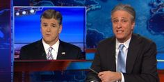 Now who will watch Fox News, now that Jon Stewart tells us, so we don't have to. Sean Hannity.
