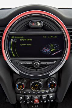 2015 MINI Cooper S Hardtop - Sport mode (notice the rocket ship?)