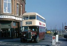 When traffic turned right into station square Routemaster, Seaside Towns, Places To Eat, Picture Show, Old Photos, Countryside, Trip Advisor, Britain, Old Things