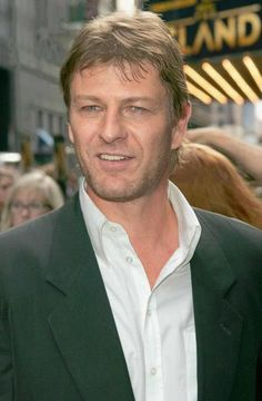 Sean Bean... LOVE THIS GUY... ALL CLEANED UP OR AS NED ON GAME OF THRONES :o)