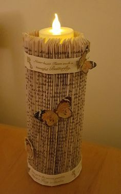 Candle Jars, Candles, Book Art, My Books, Candy, Candle Sticks, Candle