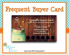 38 best scentsy marketing designs more images on pinterest frequent buyer card business card direct sales by weeziesdesigns reheart Image collections