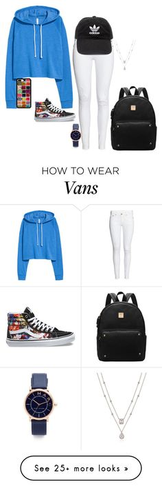 """Untitled #628"" by lauren-elizabeth16 on Polyvore featuring Vans, adidas and Marc Jacobs"