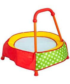 Chad Valley Toddler Trampoline - Green. What do you think?