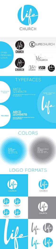 Life Church LV Branding on Behance