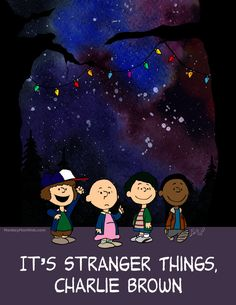 It's Stranger Things Charlie Brown by MonkeyMan504 on Etsy