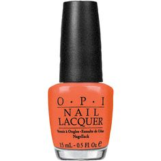 O.P.I Hot and Spicy Nail Lacquer 15ml (33 BGN) ❤ liked on Polyvore featuring beauty products, nail care, nail polish, beauty, nails, makeup, cosmetics, opi nail polish, opi nail varnish and opi nail care