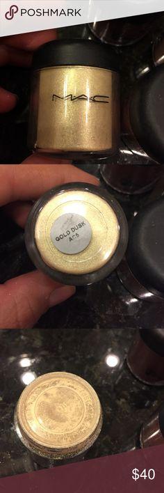 MAC full size pigment .26oz Brand new. Color: gold dusk MAC Cosmetics Makeup Eyeshadow
