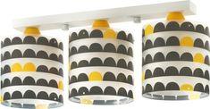 bol.com   Dalber Plafondlamp 3-lamps Wonder 51 Cm Wit/zwart/geel Planter Pots, Lamps, Room, Products, Black Kids, Nice Asses, Lightbulbs, Bedroom, Rooms