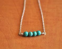 Turquoise Pod Necklace