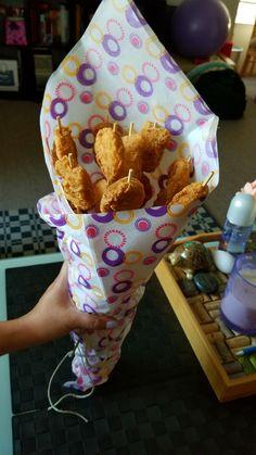 Chicken Nugget Bouquet Gift Ideas For Mikey Chicken