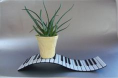 FuSed GlAsS PiAnO KeyBoArD by LanieMarieDesigns on Etsy, $47.00