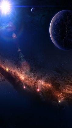 Around The World Space #iPhone #5s #Wallpaper