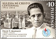 MANILA, Philippines – The Philippine Postal Corporation (PHLPost) has issued a stamp featuring Iglesia ni Cristo (INC) founder Felix Manalo, in commemoration of the religious group's 100th founding anniversary.  ttp://www.rappler.com/nation/57347-commemorative-stamp-iglesia-ni-cristo-centennial