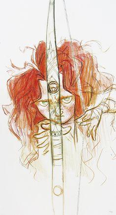 merida drawing tumblr - Google Search