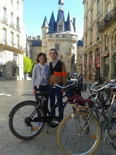 Nice tour with Sam and John :) #BdxBikeTour #Bordeaux #VisiterBordeaux