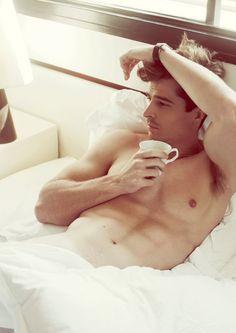 naked man model