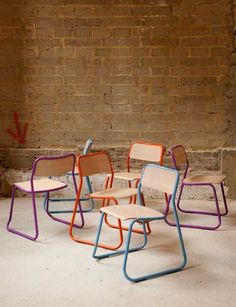 Sketch chairs // Naughtone