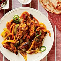 Chicken Fajitas Recipe | MyRecipes.com Mobile