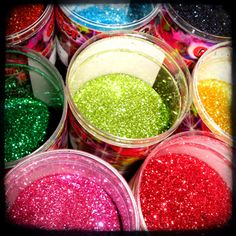 Glitter will be thrown at my wedding instead of rice. :) <3