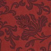 """Sparkle, Swarovski Crystals 236.05 Crimson Tapestry Category: Wallcovering  Material: Non Woven  Width: 52""""  Collection: Vescom Non Woven"""