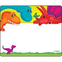 Dino-mite Pals | Name Tags