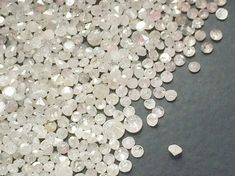 White Diamond Single Cut 1-2mm 0.5 CTW 12 Pcs by gemsforjewels